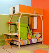Kids or Children's Bedroom Furniture advice on how to pack more into small bedrooms or different shaped rooms such as lofts. Sleeping is one of the most important things we do, so therefore a relaxing and comfortable bunk beds are critical